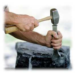hammer-and-chisel