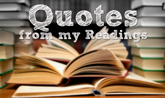 Quotes from my readings banner