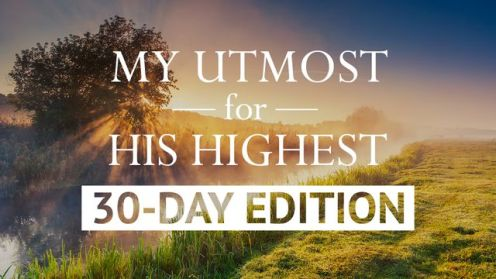 my-utmost-30-day-plan